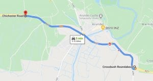 A27 Road Closure